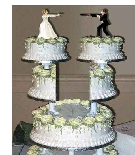 hillbilly wedding cake wedding cake the shrinking 15235