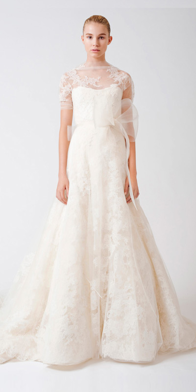 "Vera Wang ""Esther"" gown"